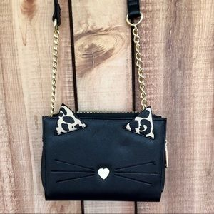 Betsey Johnson Cat Purse